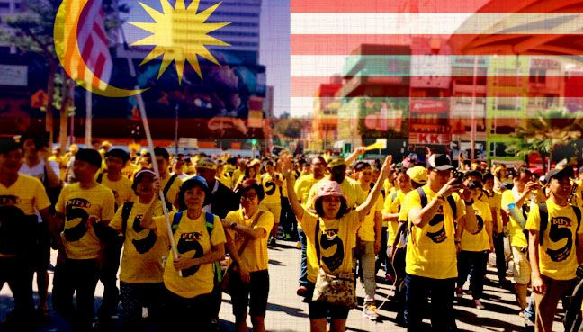 In favour of Bersih, but not going to the rally