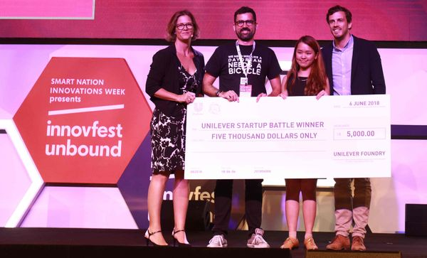 Pencil and Vase win Unilever Foundry Startup Battle 2018